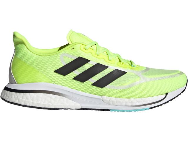 adidas Supernova + Shoes Men, solar yellow/core black/clear aqua